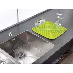 Uscator vase/pahare flume draining mat verde