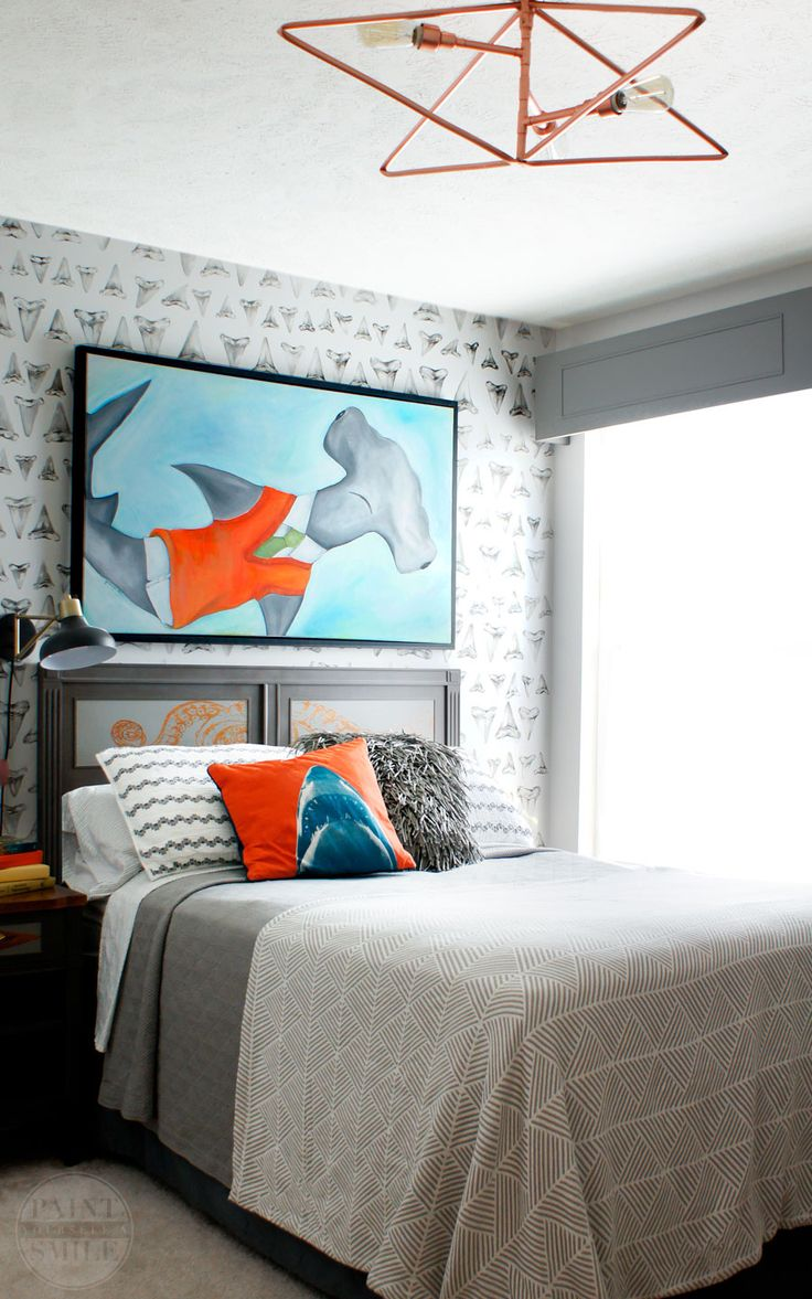 21 Remarkable Tips To Make Simple Spaces Exciting And Interesting. Shark  BedroomTheme ...