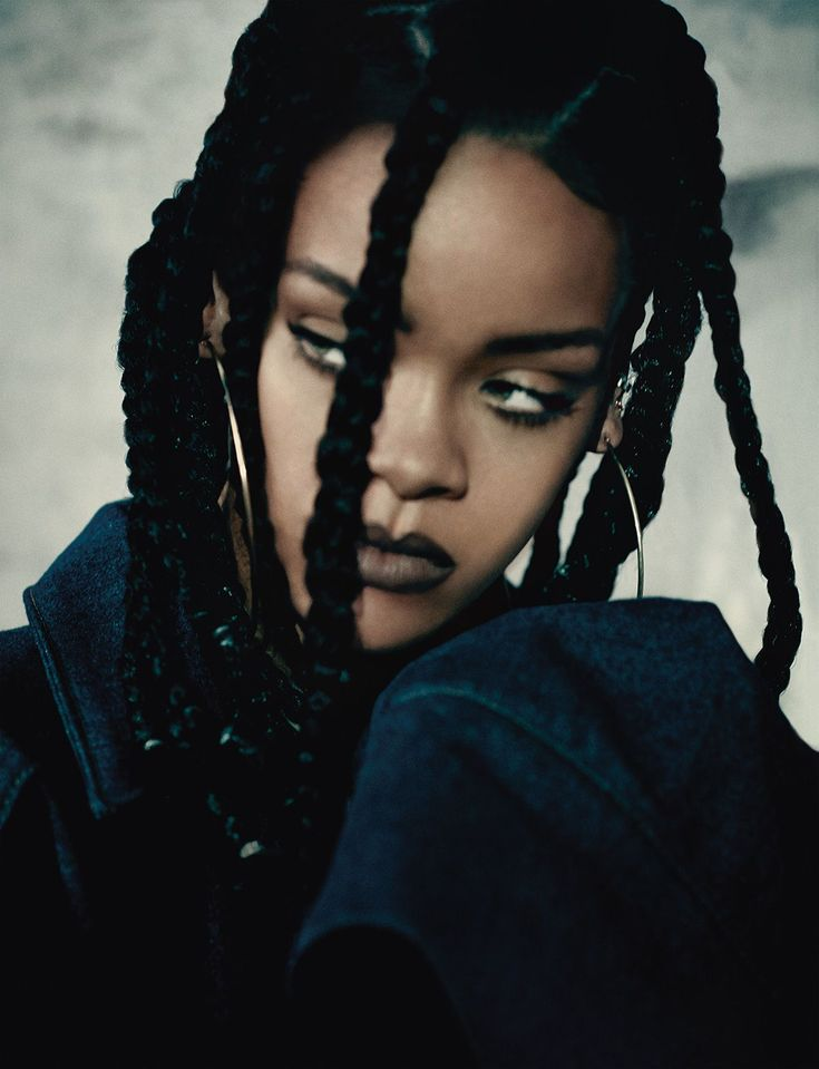Rihanna for  i-D Magazine February15 by Paolo Roversi