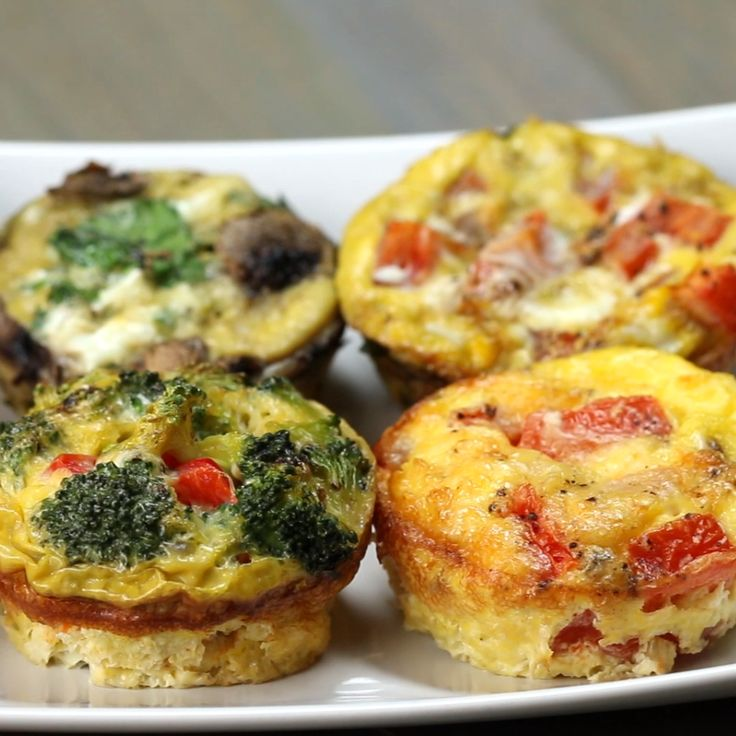 Breakfast muffins from egg