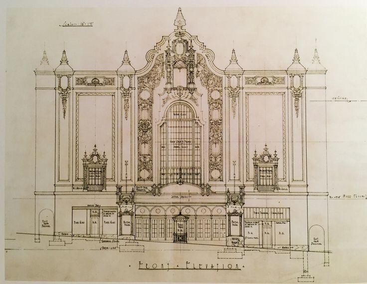 Front Elevation Definition Theatre : Best castro theater ideas on pinterest where is san