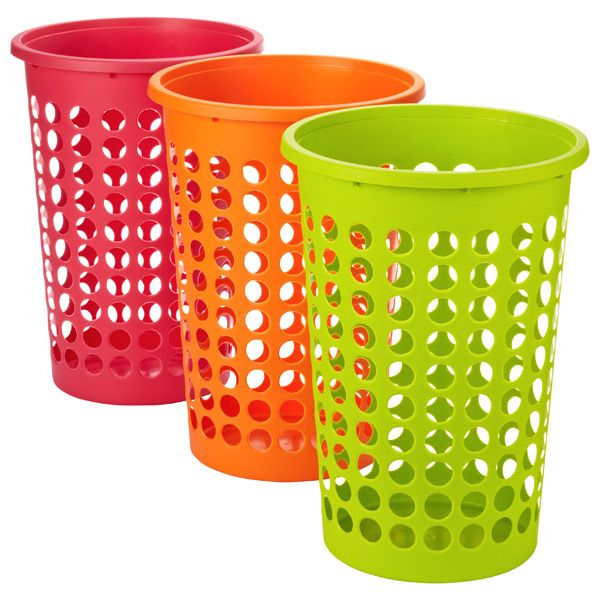 Tall Plastic Laundry Basket Fascinating 94 Best Oh Laundryimages On Pinterest  Laundry Room Laundry Design Decoration