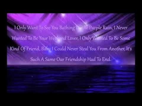 Prince, Purple Rain Lyrics My real life story is Deep Cuts (Uncut Version) on eBook and Kindle @ http://www.amazon.com/dp/B008KA45YE I am seeking a celebrity endorsement, producer and director for my film. <3 Looking for musicians to add music to my lyrics <3 Website: BillionDollarBaby.biz and Videos: youtube.com/watch?v=tTPJ8ts4k1w and youtube.com/watch?v=1_SQuJXfp-8 Thank You for Your Time and Reading My Rhyme. pinterest.com/keymail22