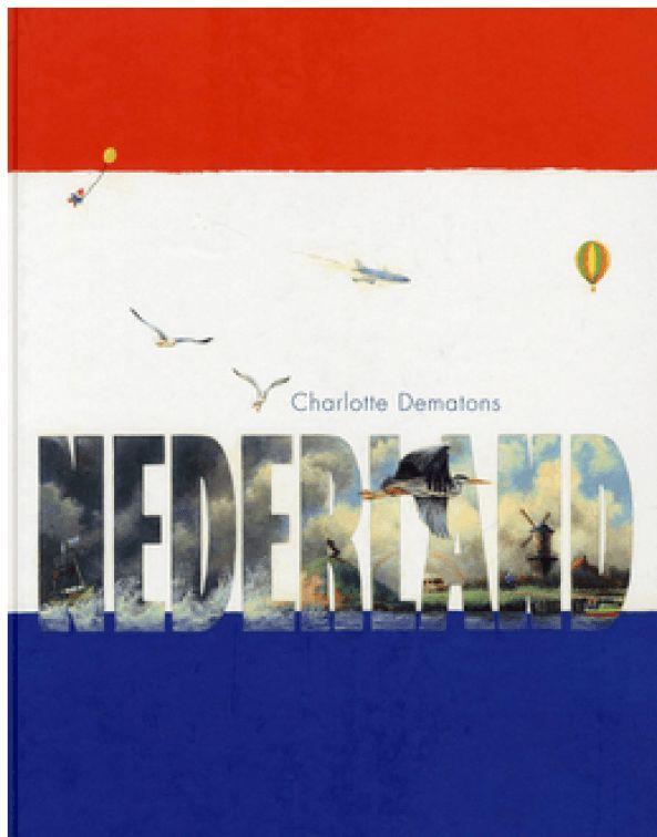Wat een fantastisch boek heb ik hier voor me liggen! Nederland van Charlotte Dematons. Een boek voor 4- tot 7-jarigen? Ik denk meer aan voor 3- tot en met 100 jarigen! Wat is er veel te zien en te ontdekken over Nederland in dit boek.