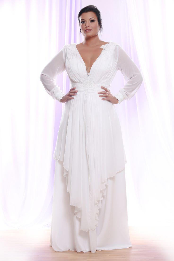שמלות כלה נשיות ומחמיאות במידות גדולות. סטודיו לבנה easywed