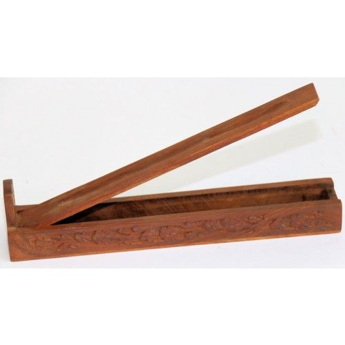 Wooden Flat Box Incense Holder with Handcrafted Availability: In stock AU$6.99