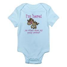 Cute Horse Infant Bodysuit