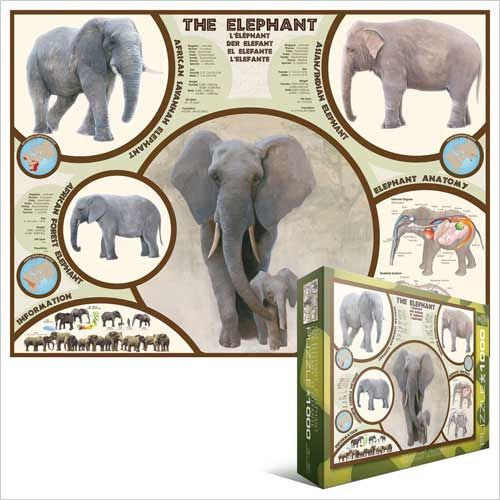 The Elephant, Jigsaw Puzzle at Eurographics; not as cute but still very awesome!
