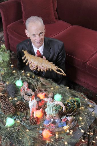 John Waters' Christmas decorations