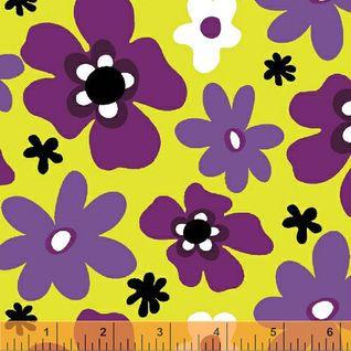 Blossom - Medium Floral Pop - Green