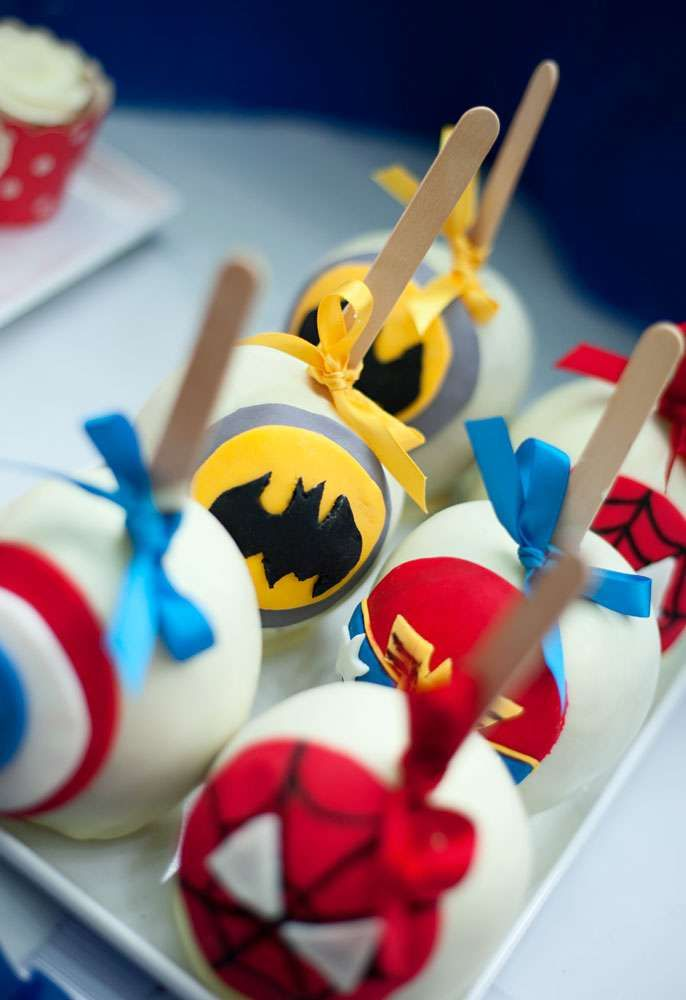 Super Heroes Birthday Party Ideas | Photo 11 of 66 | Catch My Party