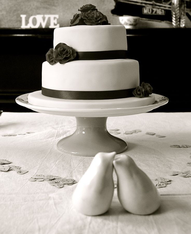 Our wedding cake. Red Velvet.