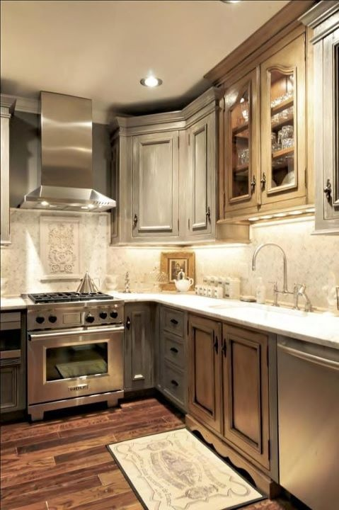 Gray Cabinets, Gray Stained Kitchens Cabinets, Gray Kitchens Design