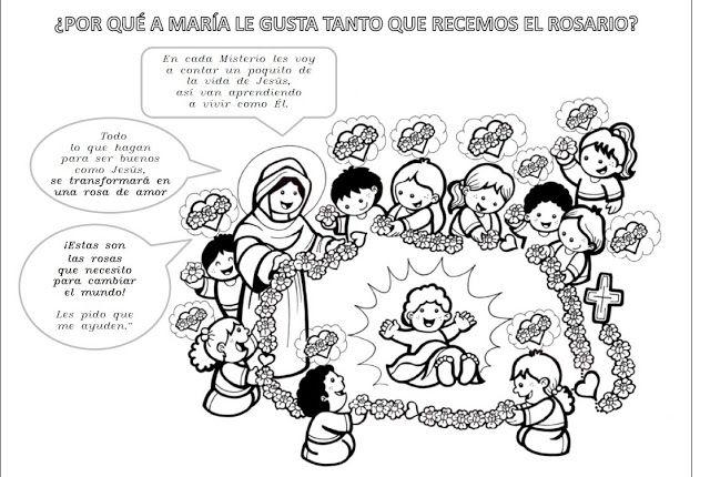 La Catequesis: Recursos Catequesis Santo Rosario para ...