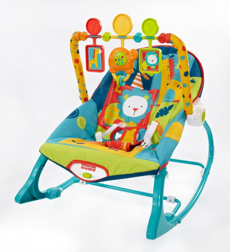 $35- Amazon.com : Fisher-Price Infant To Toddler Rocker, Dark Safari : Infant Bouncers And Rockers : Baby