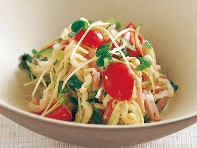 [切り干し大根のサラダ] 料理レシピ|みんなのきょうの料理