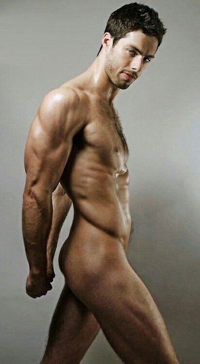 Skinny Muscular Naked Men - Naked Photo-2448