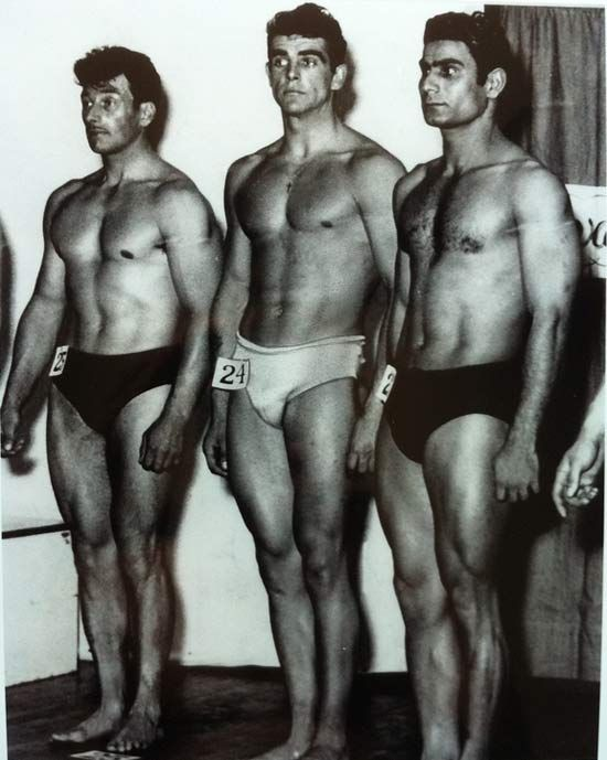Sean Connery placed third in the 1953 Mr. Universe contest. I'm sure he was proud of himshelf.