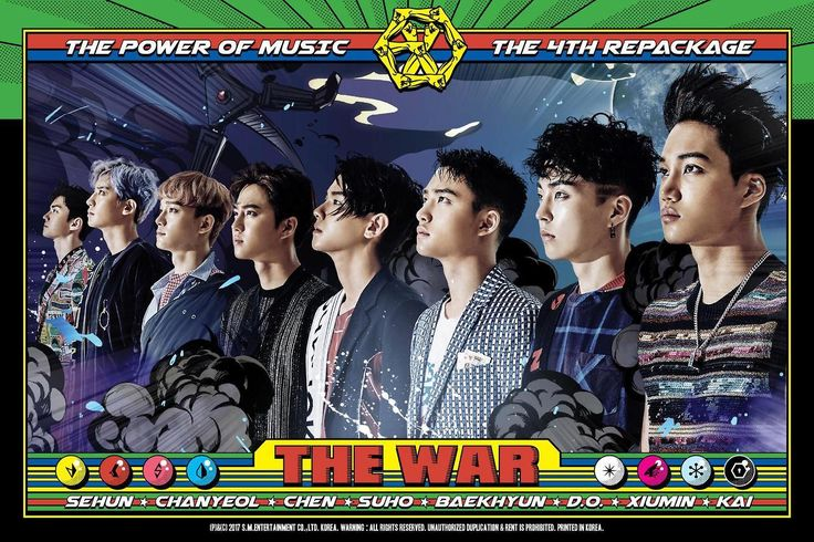 THE POWER OF MUSIC DIGITAL BOOKLET #EXO