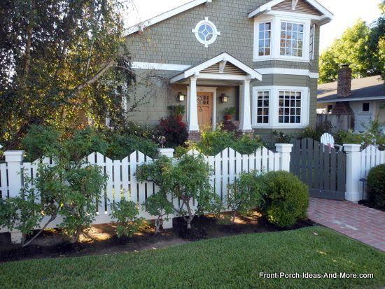 64 Best Picket Fence Love Images On Pinterest
