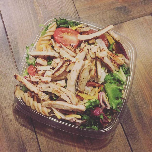 Kyckling pastasallad