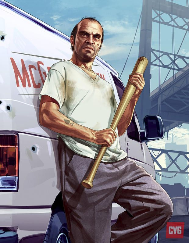 News: GTA V: new character concept art - ComputerAndVideoGames.com