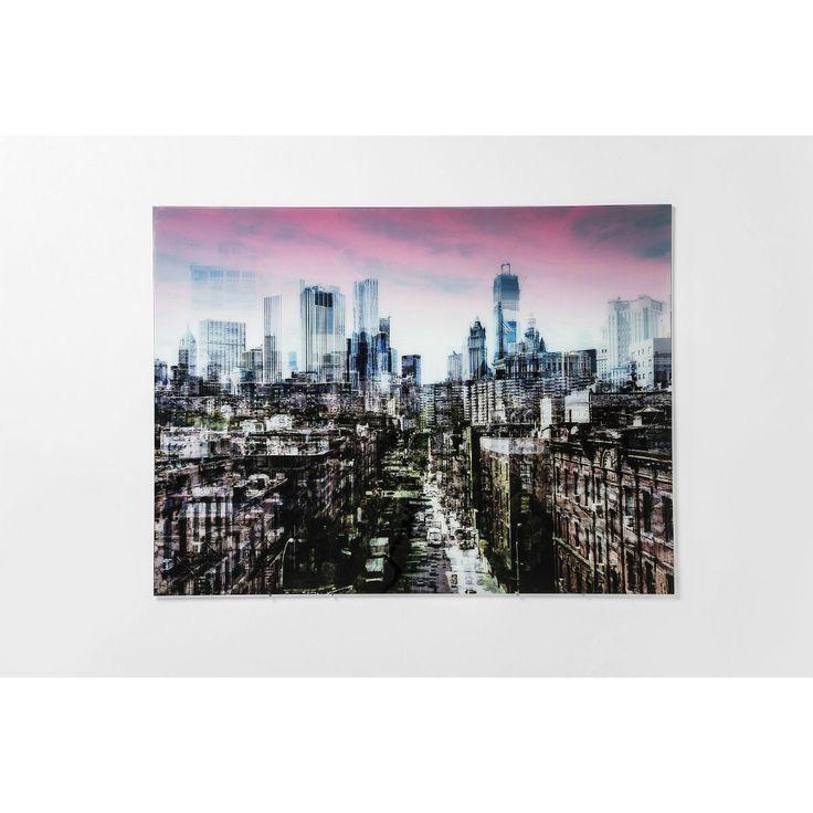 Πίνακας Glass NY Skyline