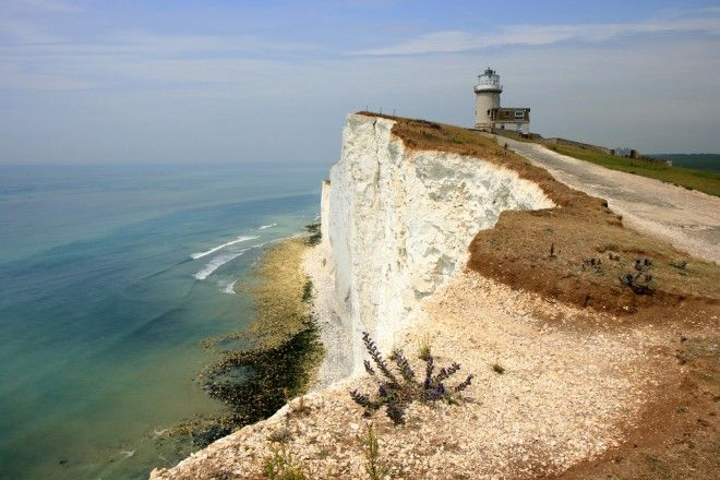 Belle Tout lighthouse at Beachy Head | 20 Unforgettable Places to Stay in the UK