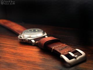 Topouzelli Straps : Leather watch strap. Handmade. T 873