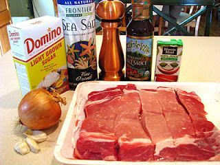 Country Ribs in the Crock Pot-This is in the crock pot right now!