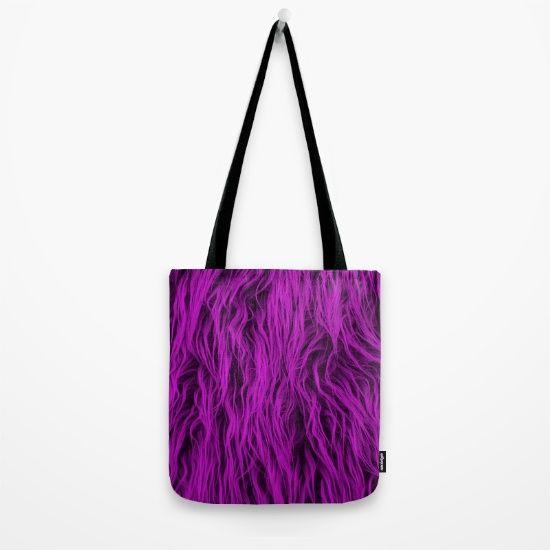 Purple Wooly Carpet - $18