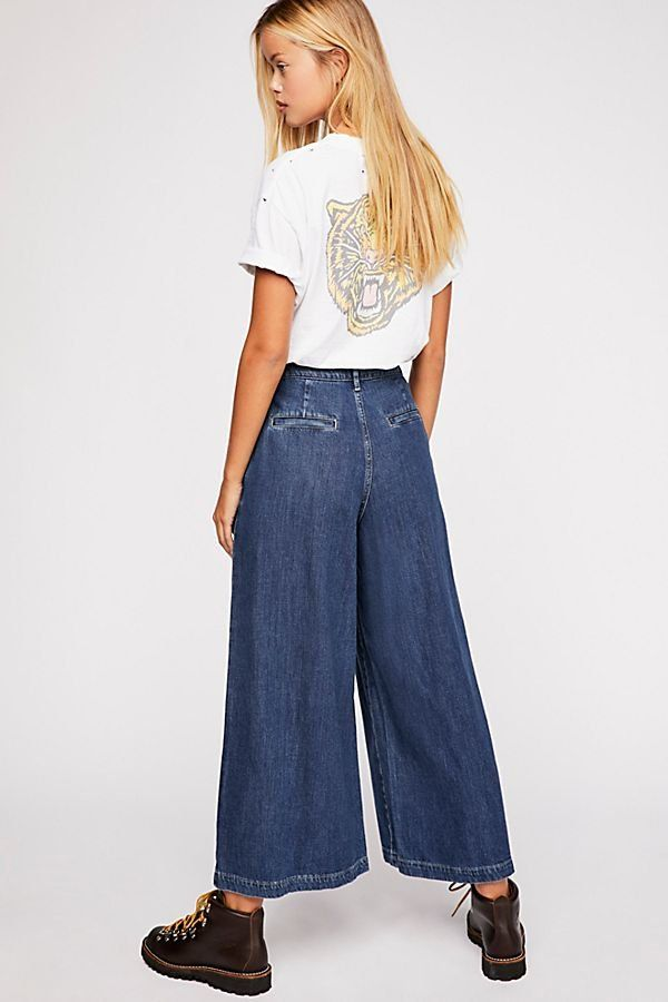 20a596981d85 Levi's Wide-Leg Pleated Jeans in 2019 | Denim | Jeans, Wide leg ...