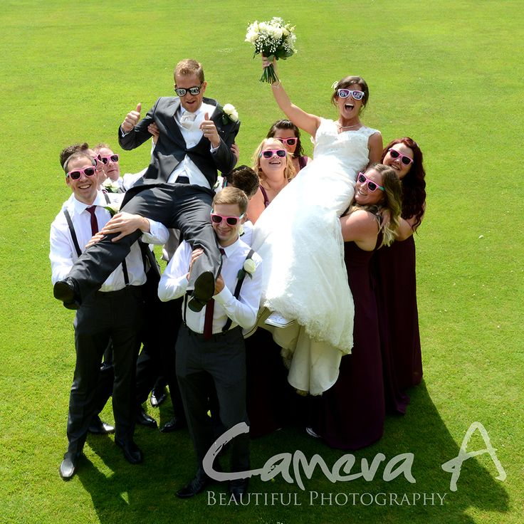 This wedding was fun through out the day and the bride and groom couldn't stop smiling. The sun and glasses were a nice touch!