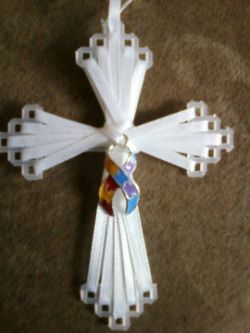 17 best images about craft projects on pinterest cross for Cardboard crosses for crafts