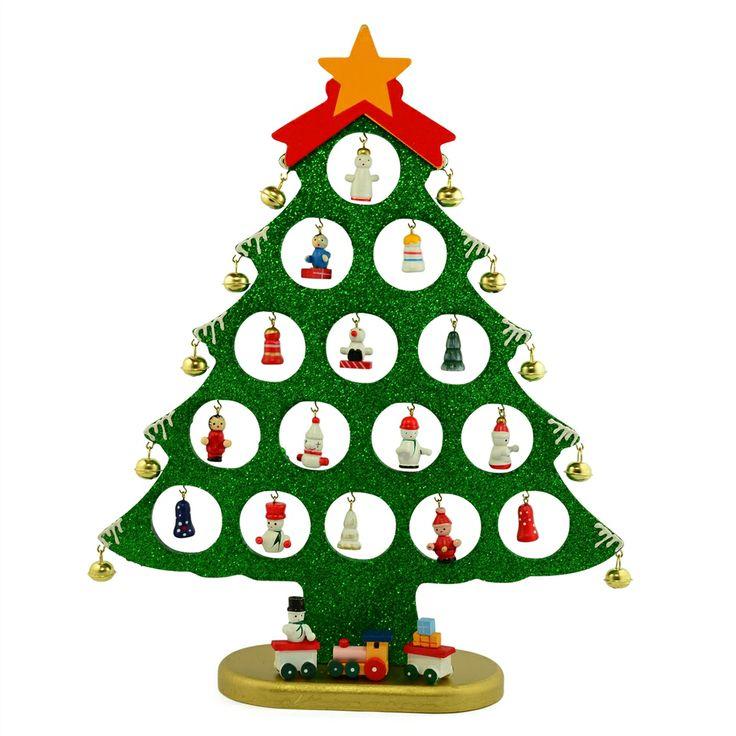 Mini Wooden Christmas Tree Ornaments   Rainforest Islands Ferry