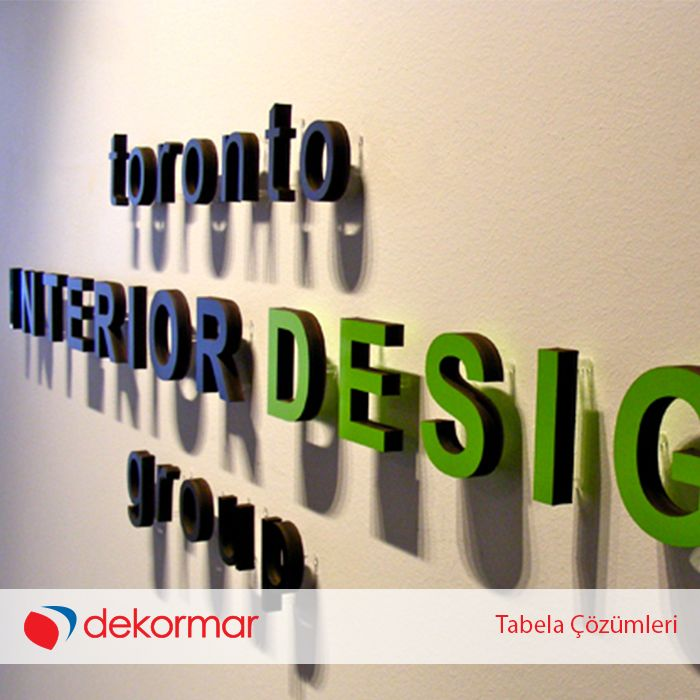 Dekoratif iç mekan tabela çözümlerimizle markanızı duvarlarınıza yansıtın... www.dekormar.com #dekormar #tabela #izmir #istanbul