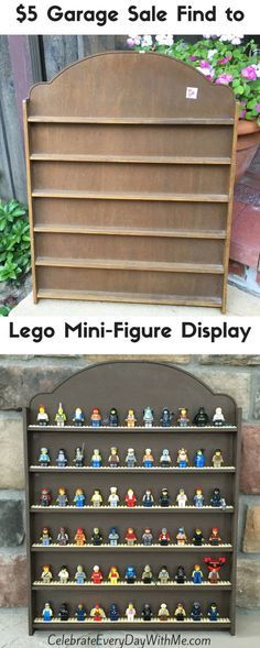 cool way to keep the kids' lego mini-figures organized and off the floor!