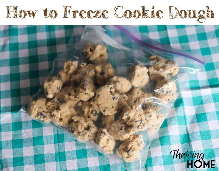 Recipe cookies freeze well