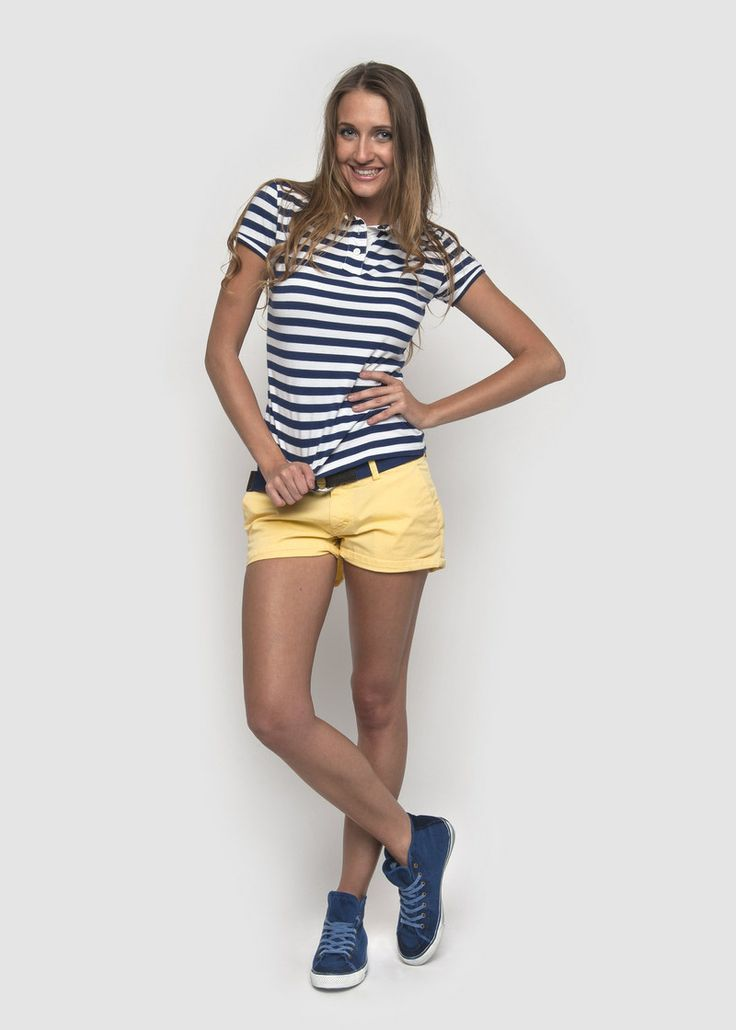 #NorthSails #collection #Spring #Summer #2014 #SS2014 #Woman #tshirt #polo #stripes #cora #shorts #collezione #primavera #estate