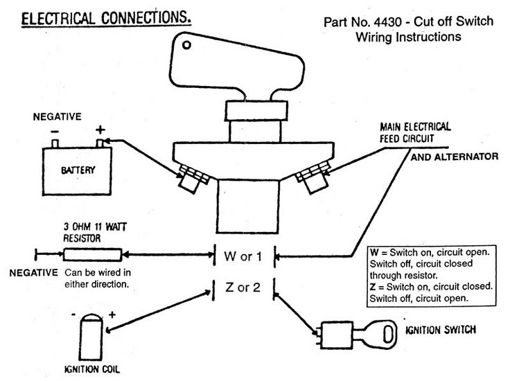 how to wire a battery cut off switch scca - google search | deserter gs | kill  switch, diagram, crystal reports