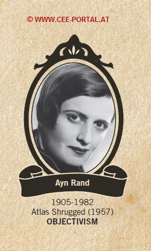 Ayn Rand 1905-1982 Atlas Shrugged (1957) OBJECTIVISM