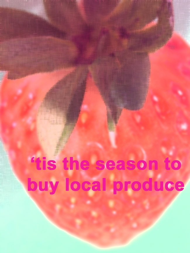 'Tis the season to invest in seasonal and local produce. Learn about the benefits for you and your wallet! # health #fruits #nutrition