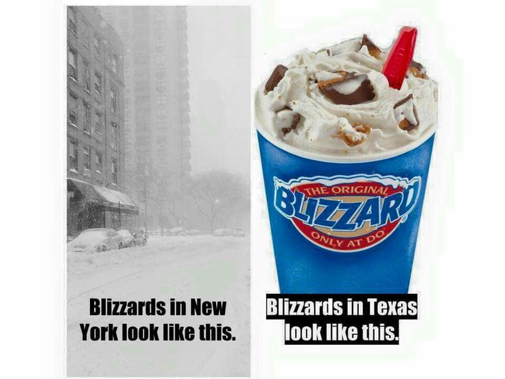"I can't wait to not have winter!! The iconic Dairy Queen sign, a.k.a. ""Texas Stop Sign."""