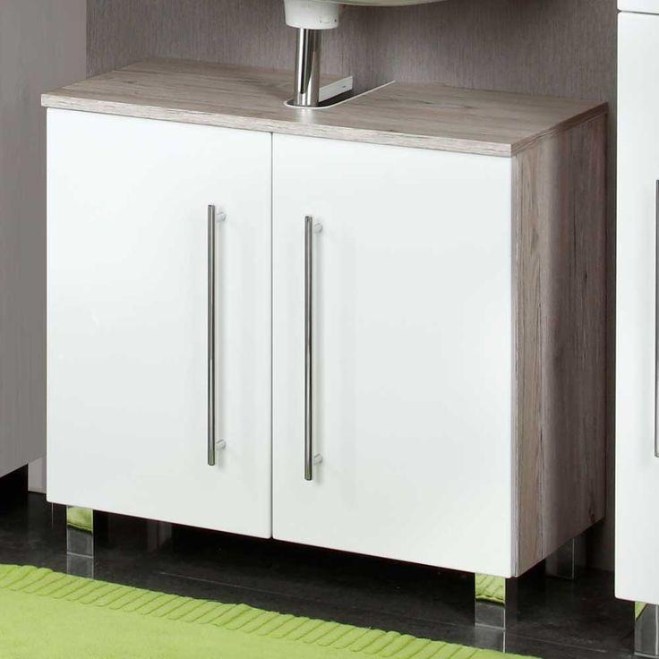 Badezimmermöbel weiß grau  Best 25+ Waschbeckenunterschrank weiss ideas on Pinterest ...