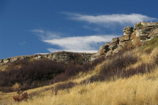 Head-Smashed-in Buffalo Jump...what a crazy name