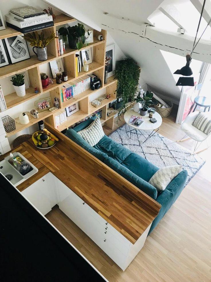 So erstellen Sie ein zusätzliches Zimmer in einer kleinen Wohnung in Paris
