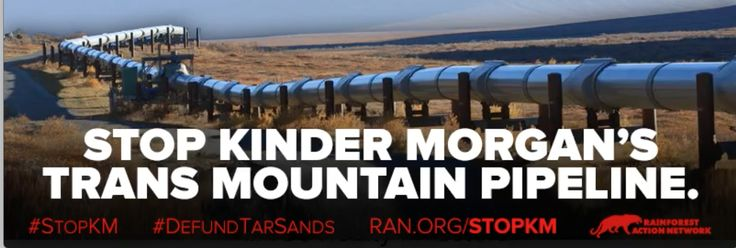 Kinder Morgan's Trans Mountain Pipeline will be a disaster for Indigenous rights and the environment. Email bank CEOs and tell them to stop financing Kinder Morgan's oil pipeline and all tar sands projects.