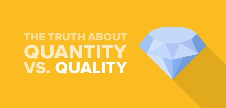 "For optimizing a website or a business, all of us unanimously agree on a saying, ""Content is King"". Content is a concept hard to understand. This is why we take a closer look at what matters, content quantity or quality."