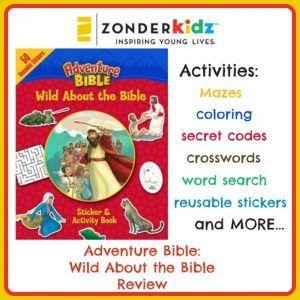 Adventure Bible: Wild About the Bible Activity book  #zonderkidz