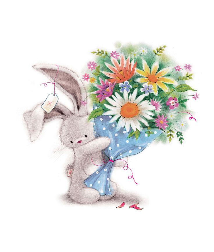 зайцы с поздравлениями с днем рождения в картинках пожалуйста, что